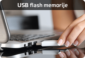 April četiri - USB flash memorije