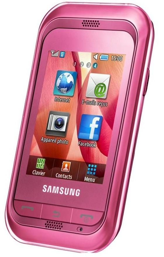 samsung champ pink. Samsung C3300K Champ